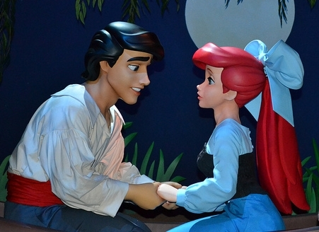 Here's a creepy rendition of the dreamiest Disney prince there is. I'm talkin' to you, Eric! Photo Creds:  Foter.com.