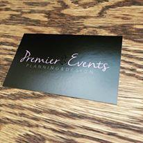 Premier Events Business Card