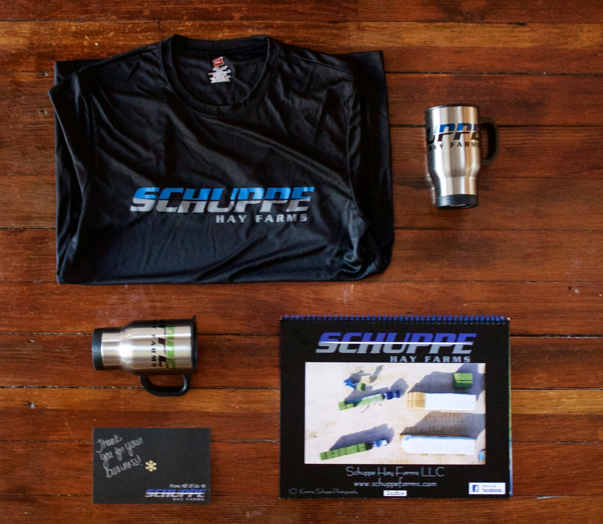 Schuppe Promotional Materials