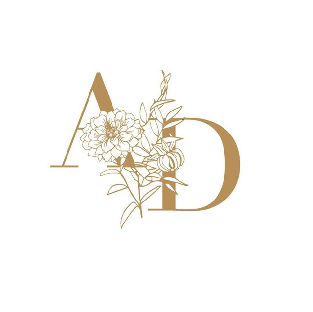 So much fun creating this beauty for @albadahliafloral. Lucky that I get to call her my own florist for our wedding, but even luckier to get to freshen up her branding to match where she's at in her business! ✨