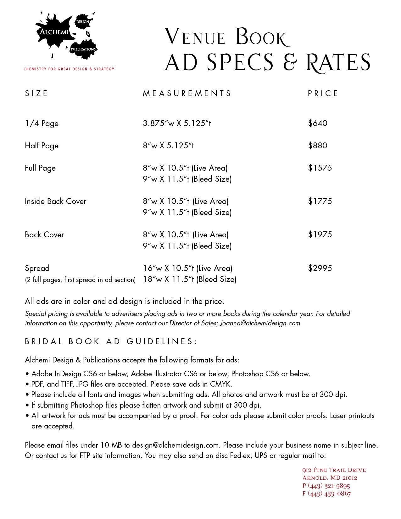 Ad Specs & Rates