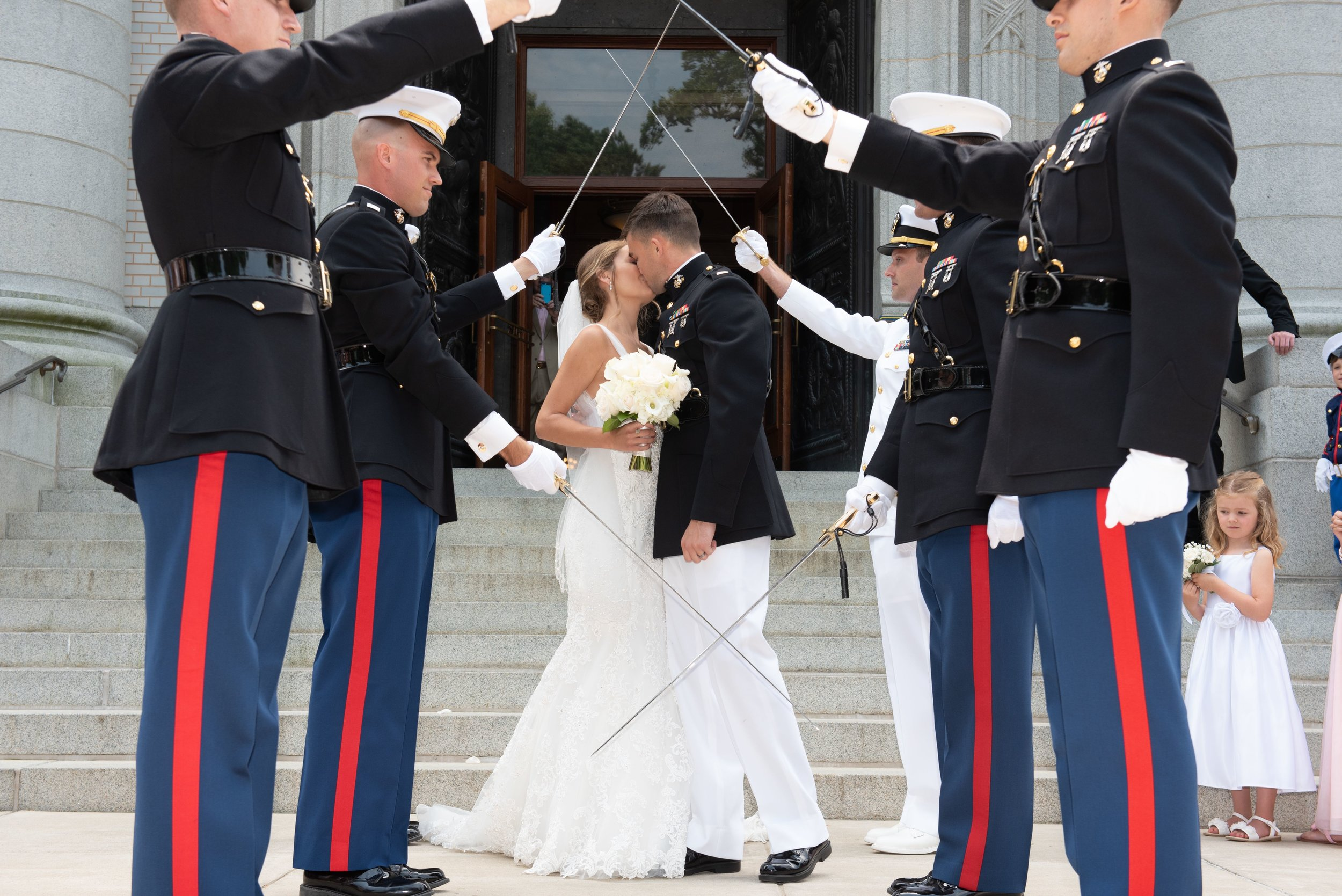 Real Weddings – Military Weddings in Annapolis, Maryland