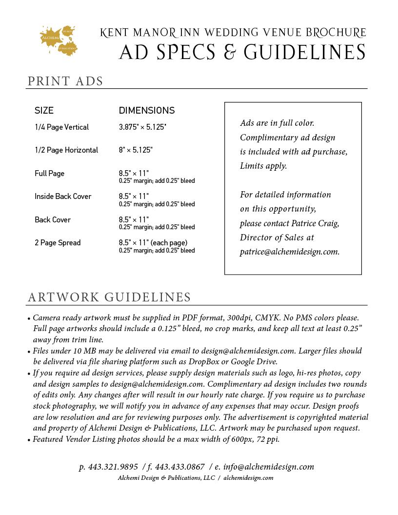 Ad Specs & Guidelines