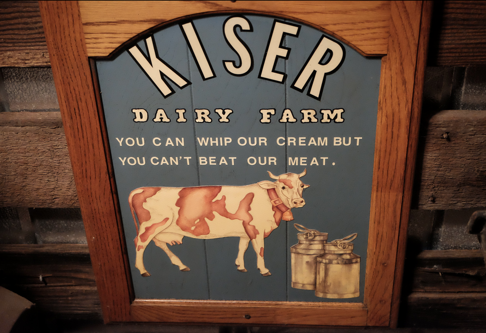 Milk from the Kiser Dairy was delivered in the 1950s to the Sonoma Creamery, Vella Cheese, and Sonoma Cheese Factory in downtown Sonoma.