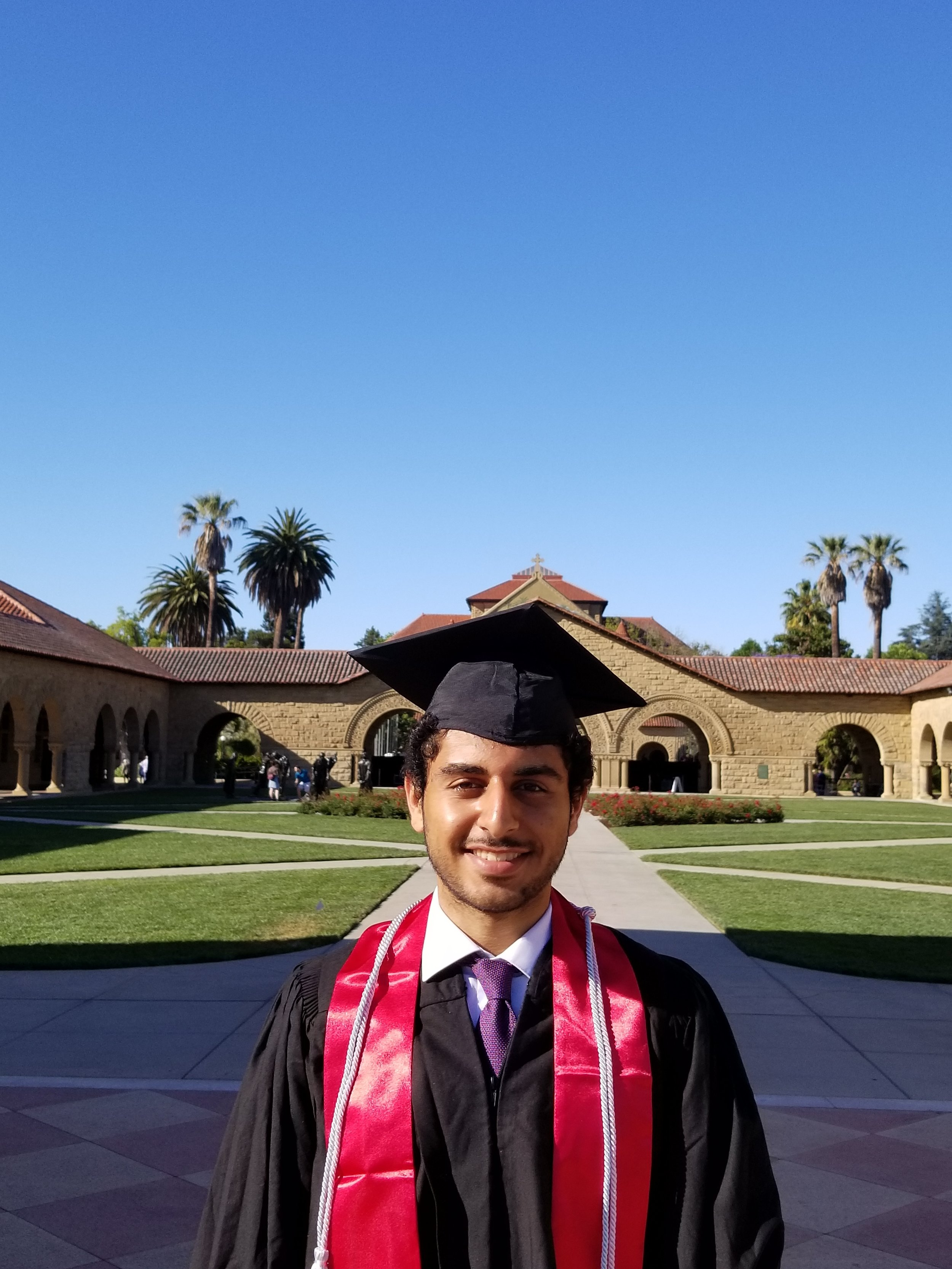 Congratulations Joseph... - for completing the Biology major with distinction at Stanford University.Joseph Alan Kirollos is the first EEF graduate,. he was inducted into the Phi Beta Kappa Honor Society and is now enrolled the Northwestern Feinberg School of Medicine in Chicago pursuing and MD degree
