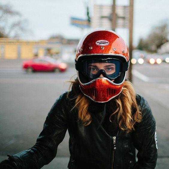 IMAGE: FEVVA AT  WOMENS MOTO EXHIBIT