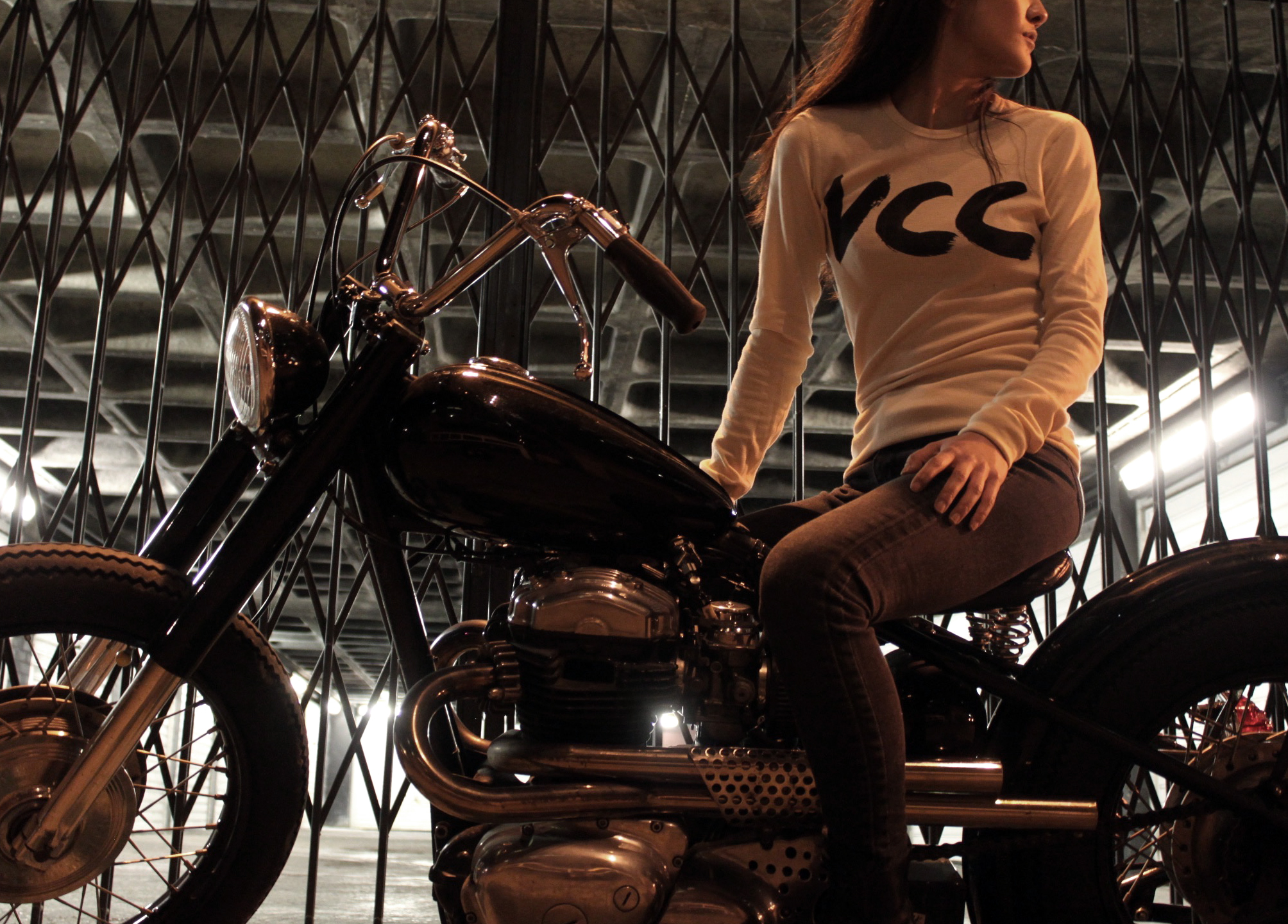 VCC printed logo thermal top