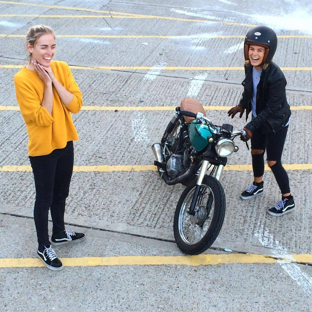We have 125cc beginner riding lessons onsite