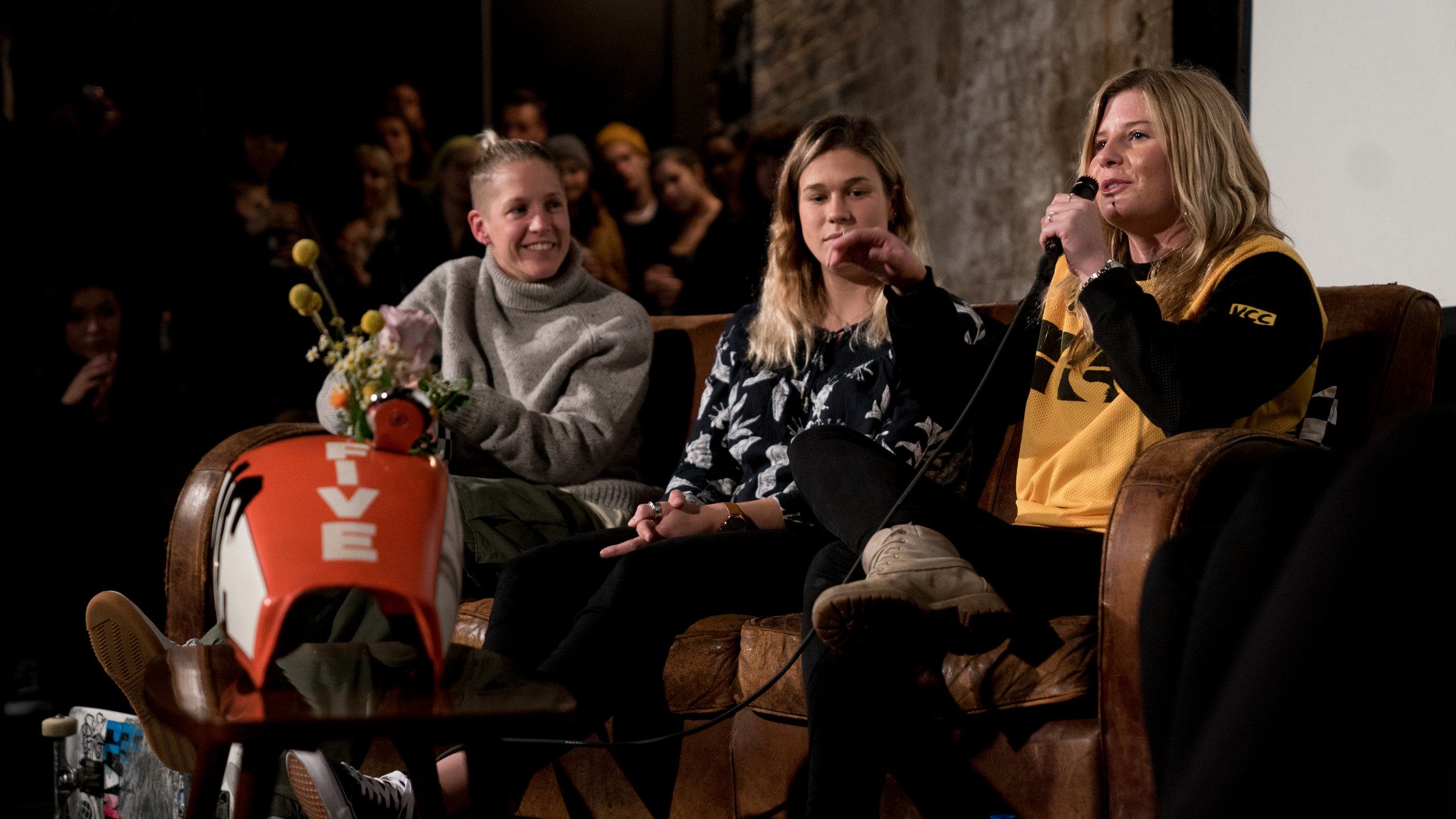 LUCY ADAMS, EMILY CURRIE & LEAH TOELOVE - VC TEAM TALKS