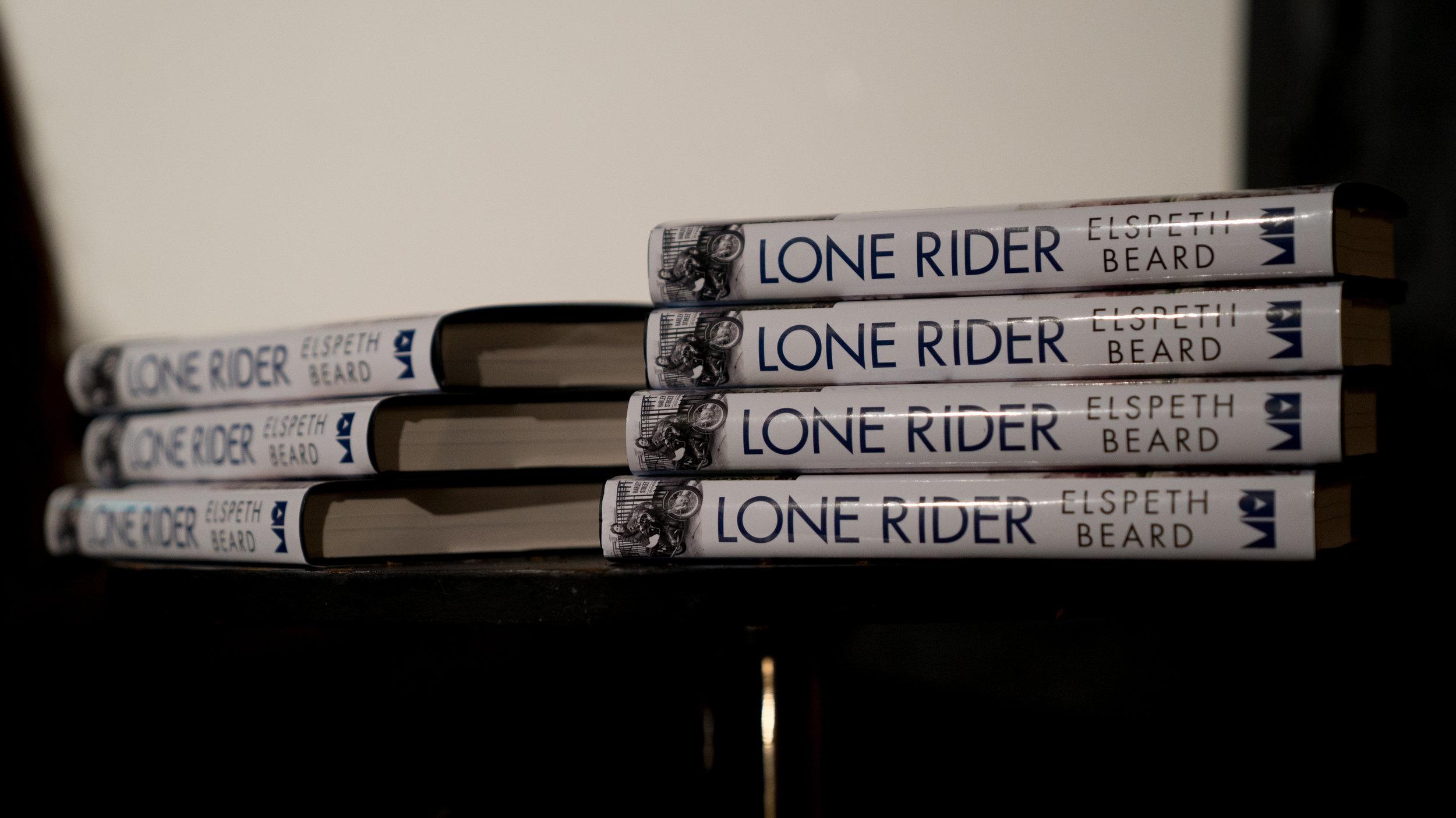 ELSPETH BEARD - 'LONE RIDER'