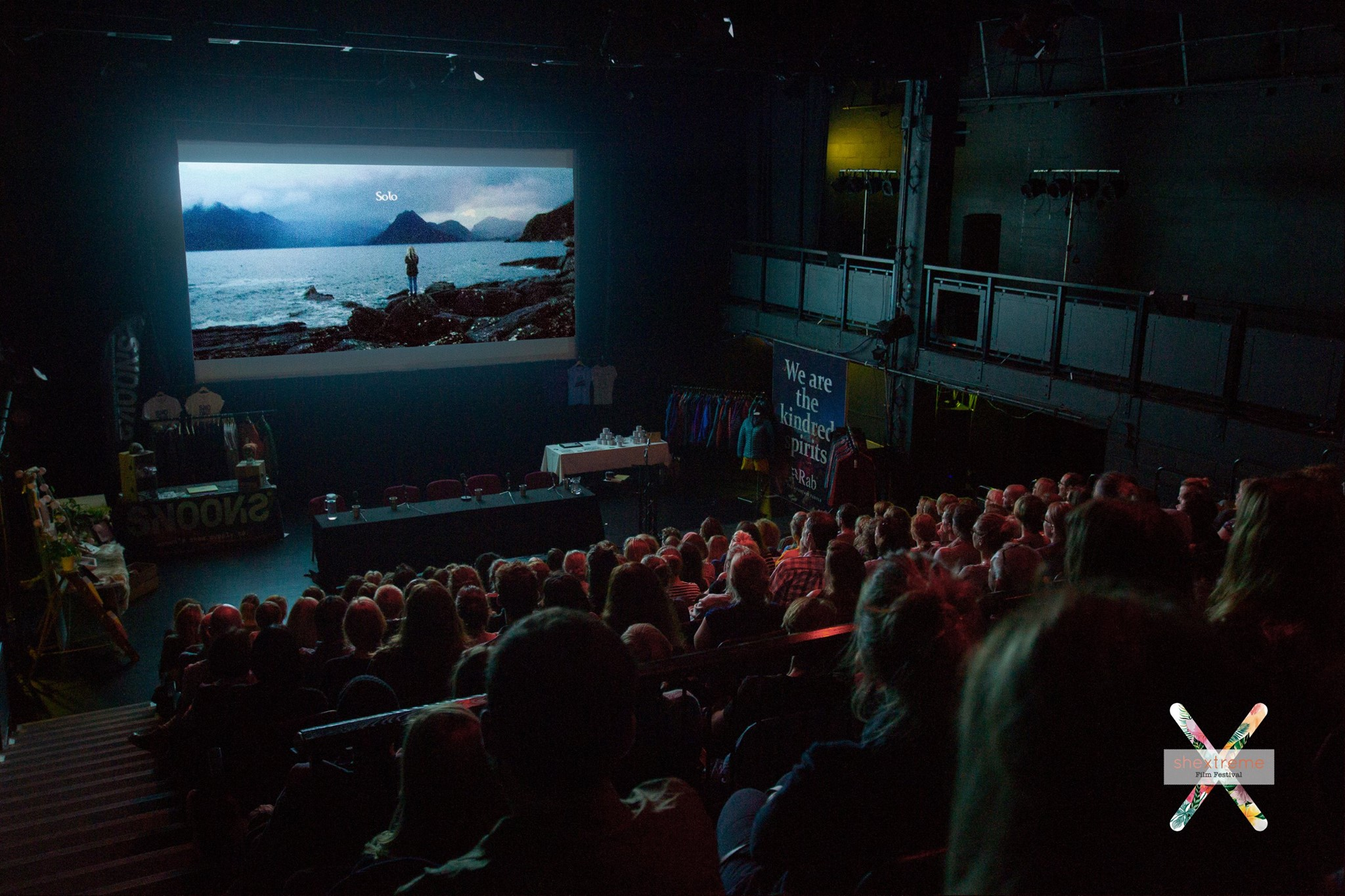 hextreme - Image from last year's audience at Shextreme Film Festival 2018: Image Credit: Emma Bell