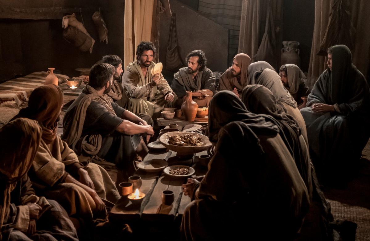 Jesus His Life: Last Supper