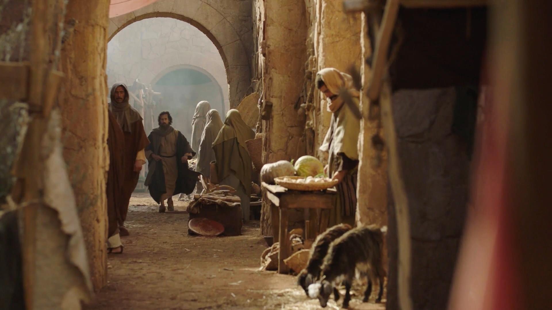 Jesus His Life: Jerusalem Street