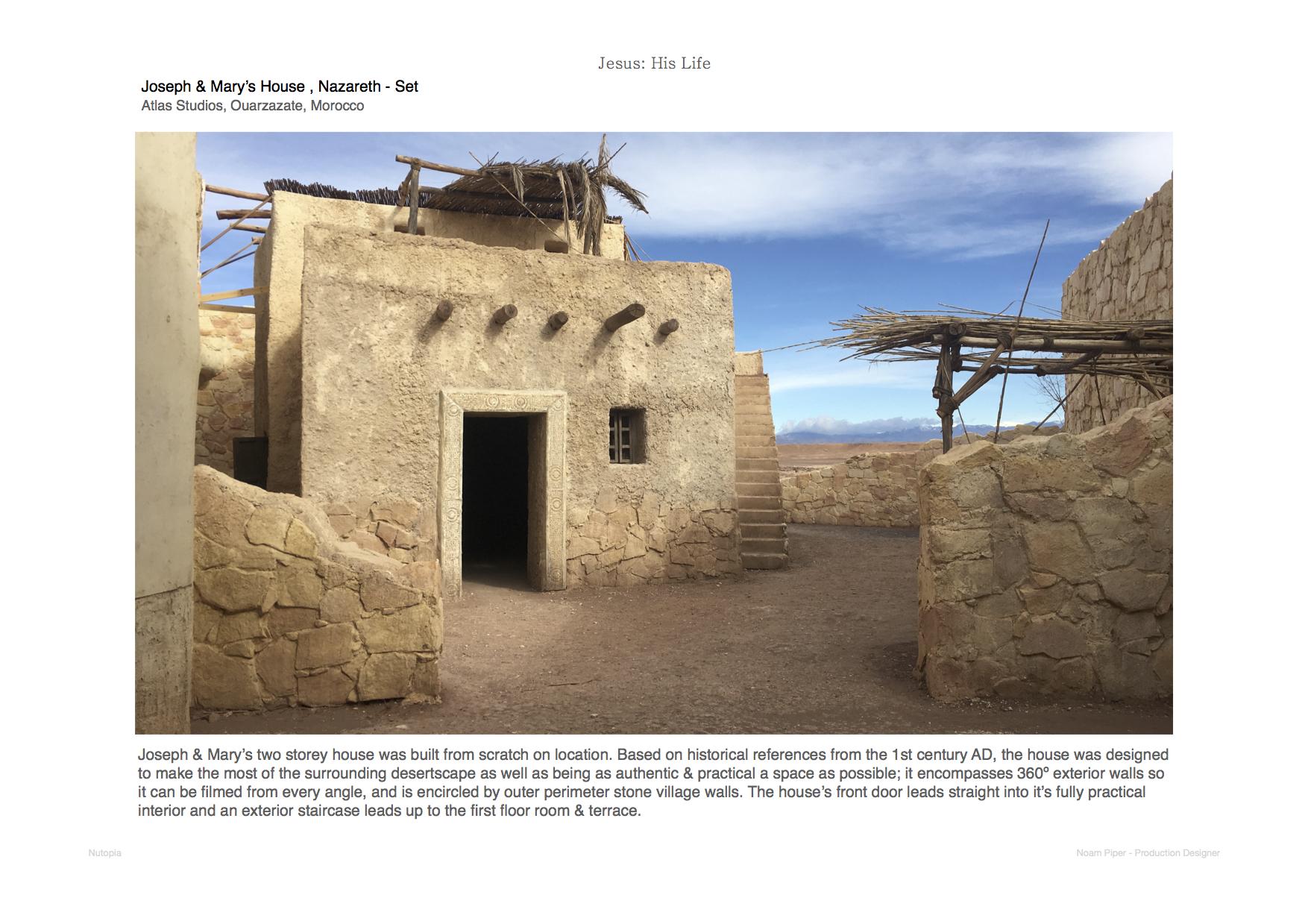 Jesus His Life: Joseph House