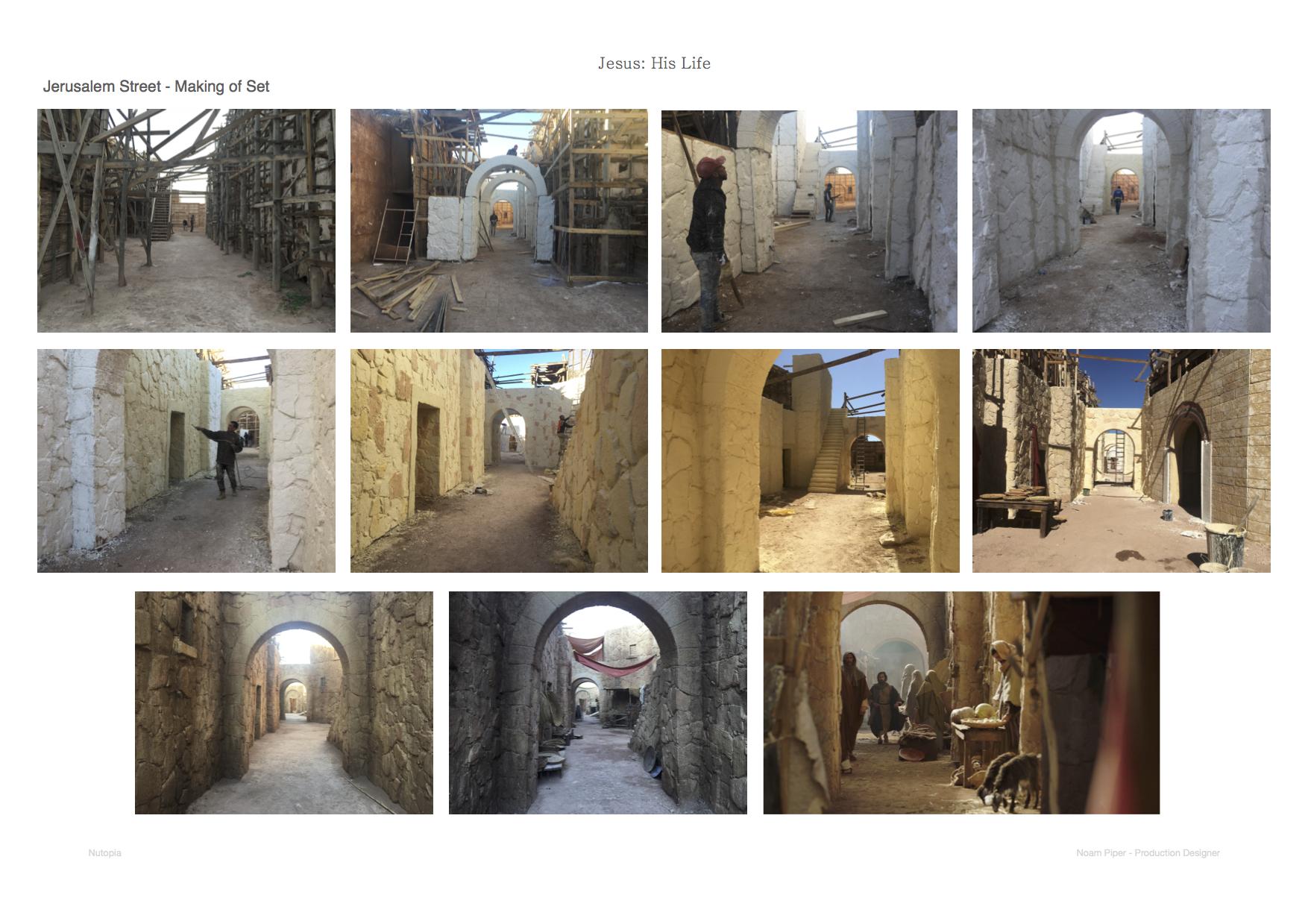Jesus His Life: Making of Jerusalem Street