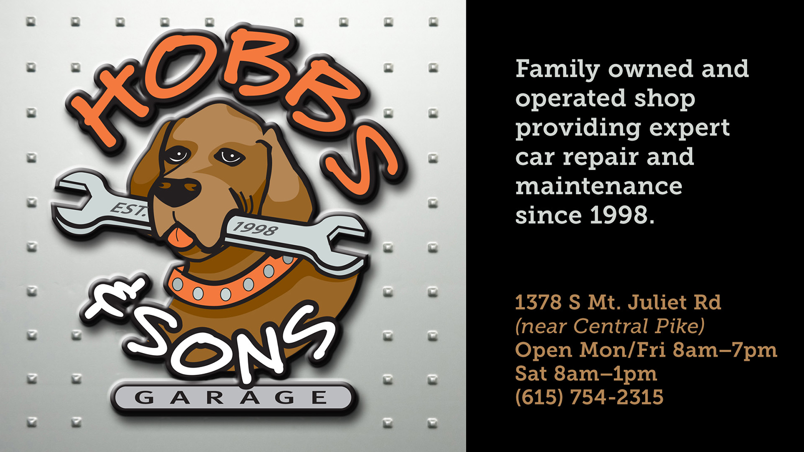 Hobbs & Sons Garage