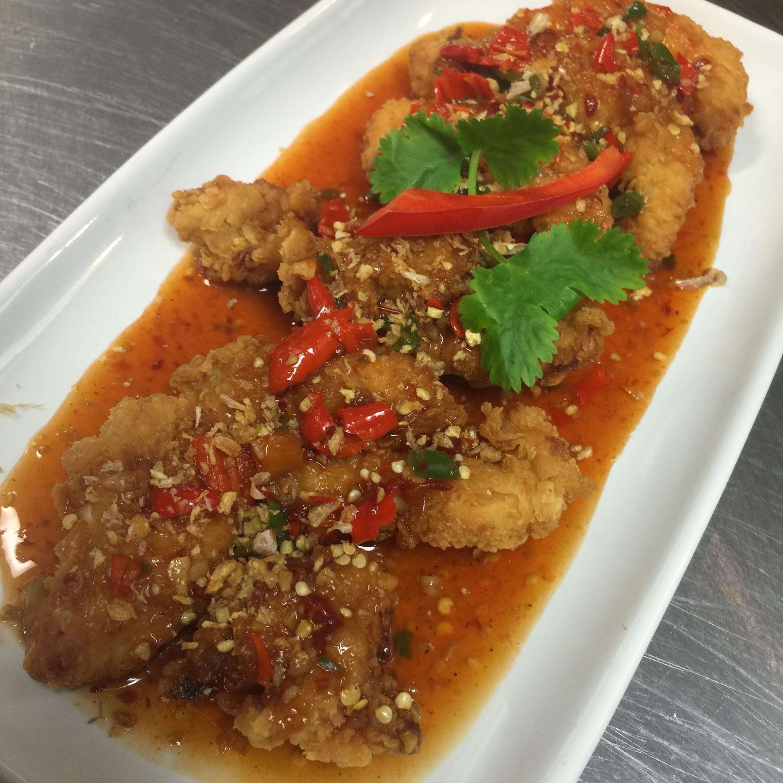 Fish + Chile Pepper
