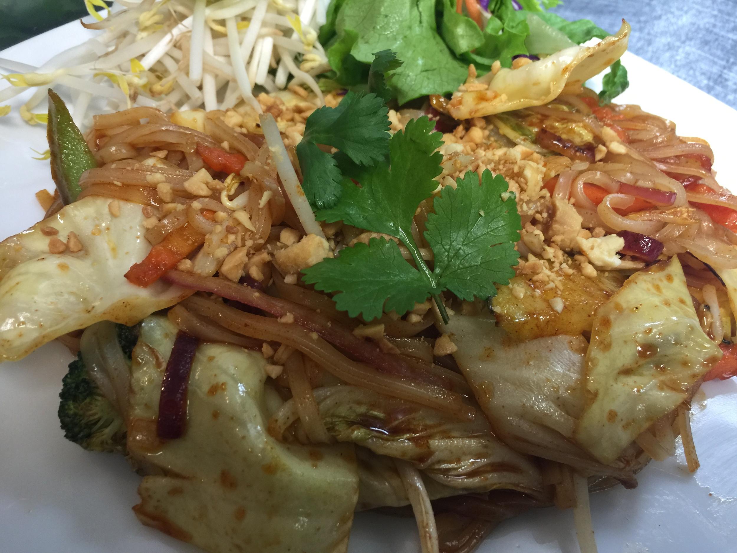 Pad Thai + Veg