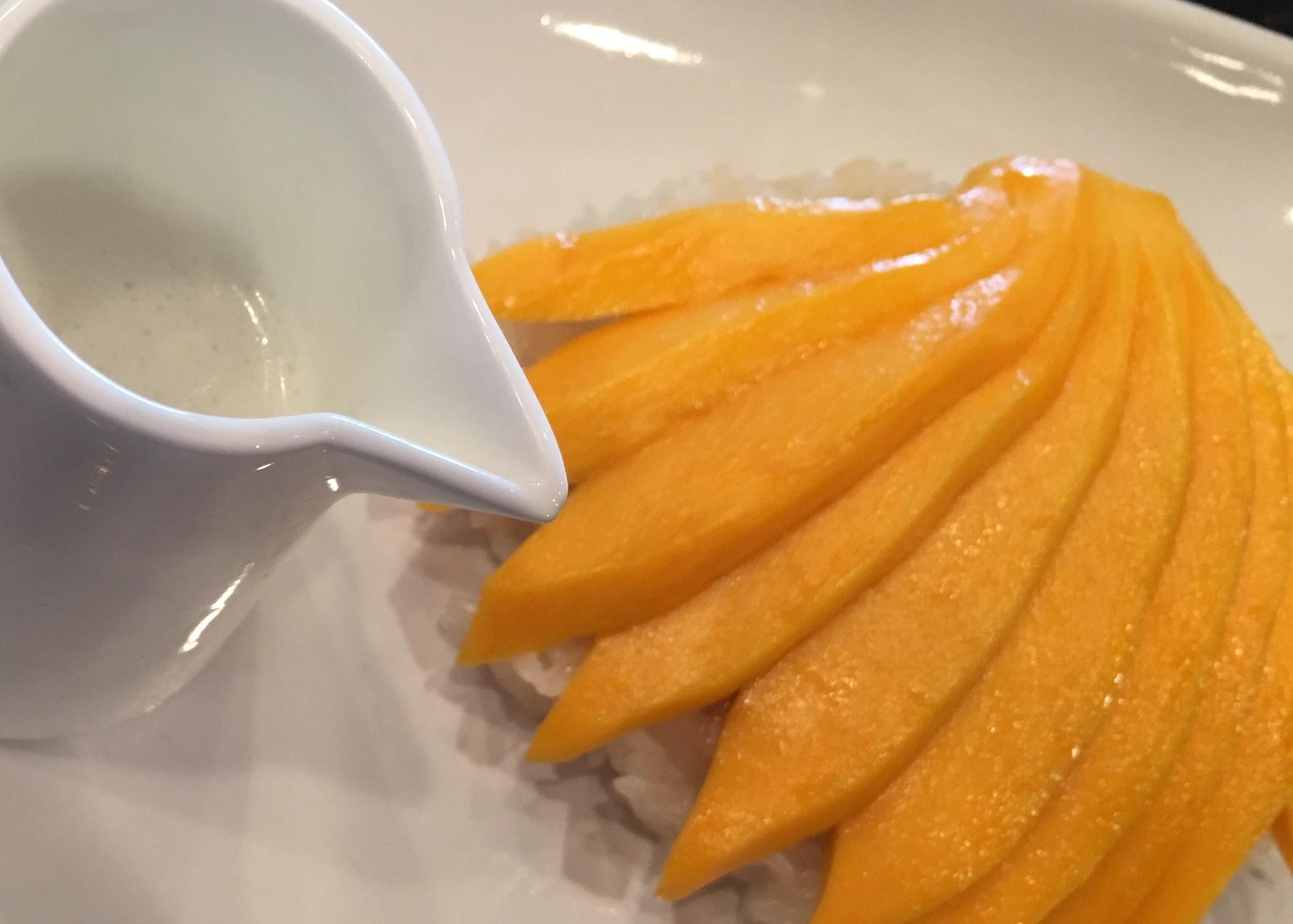 Sweet Rice + Mango