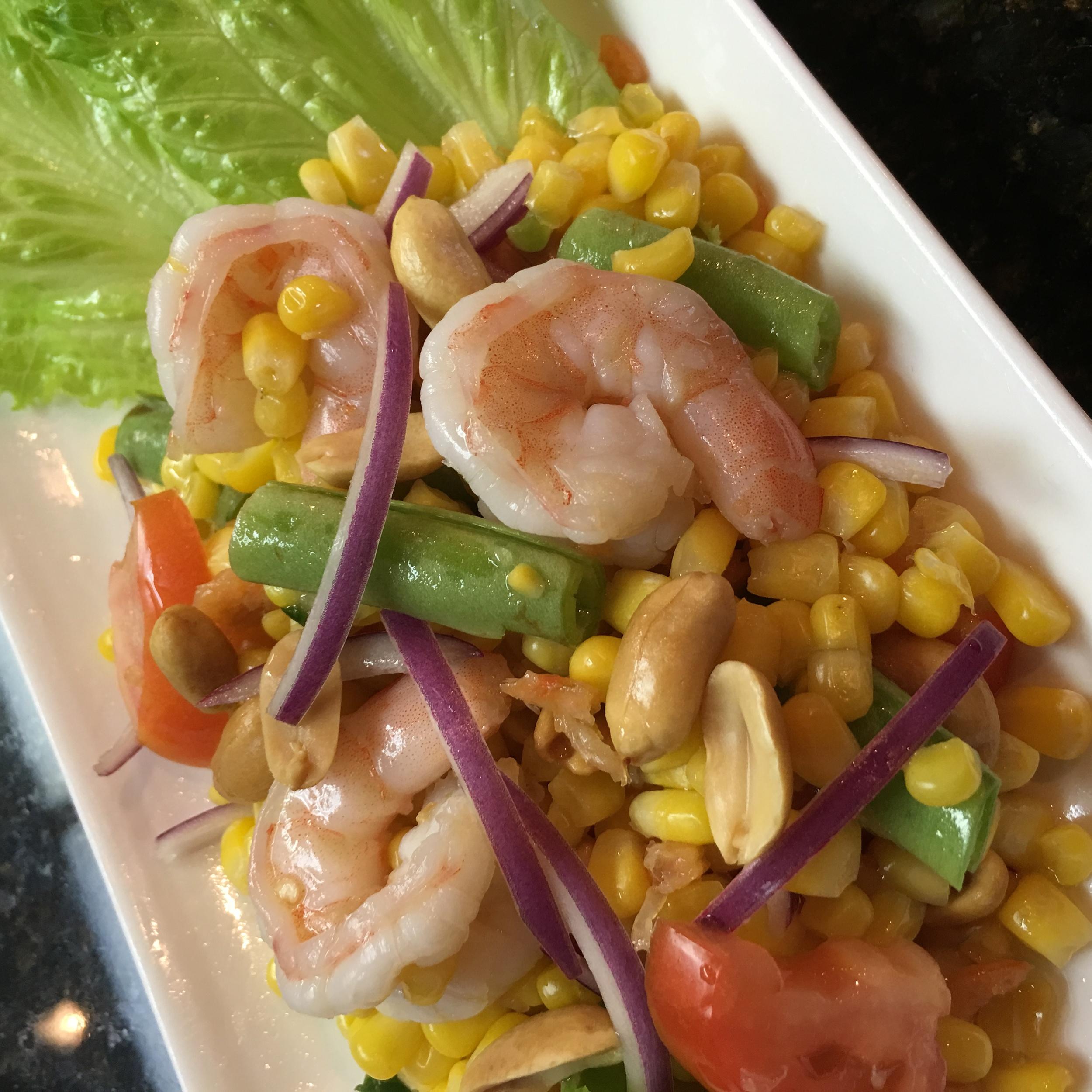 Shrimp + Corn Salad
