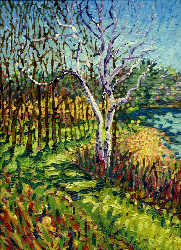 Spring Revisited (plein air)