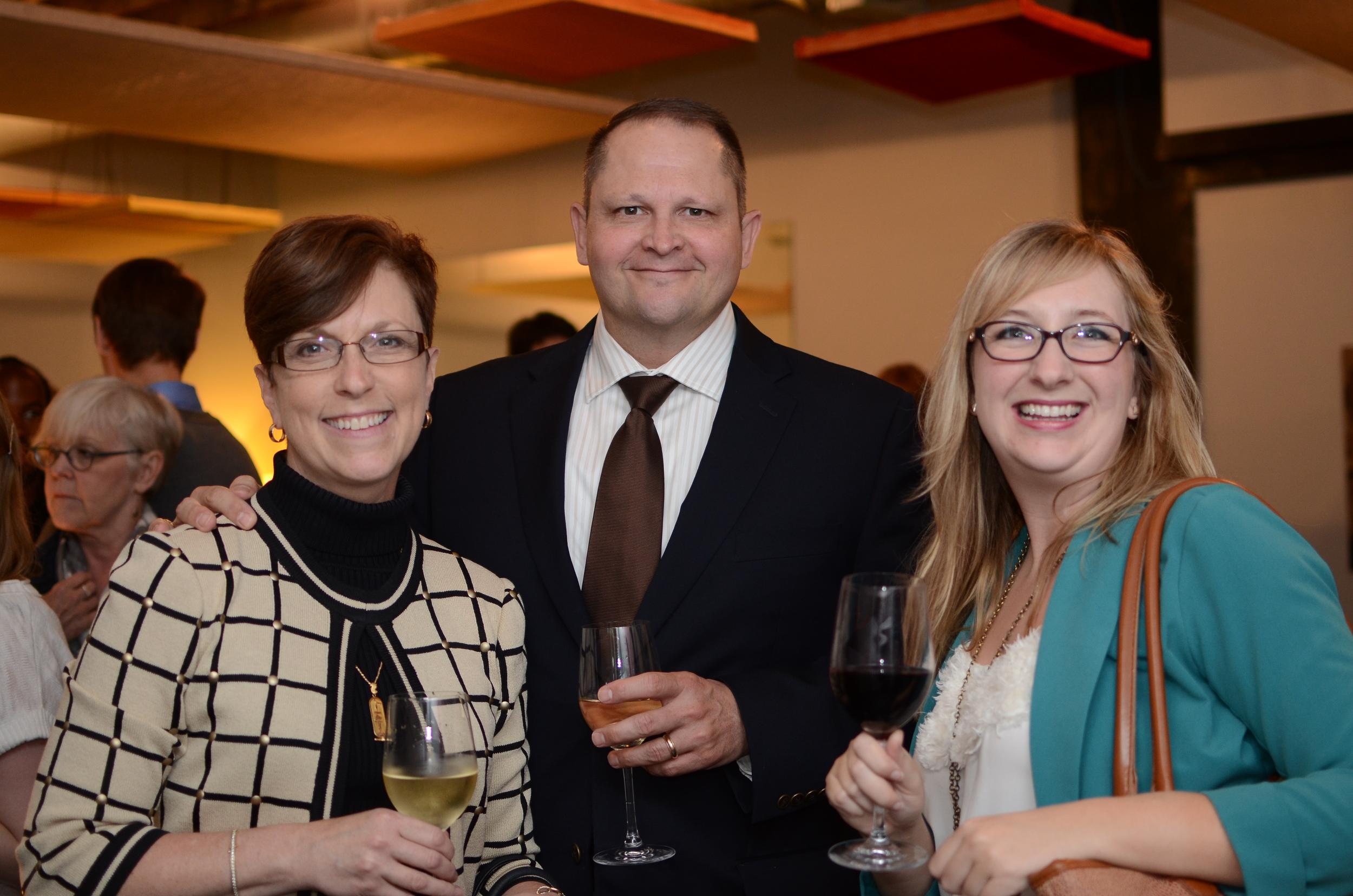Jennifer Wampler, UMKC Conservatory; Bryan Wampler; Jamie Roach, The Emerging Business CFO – EBCFO