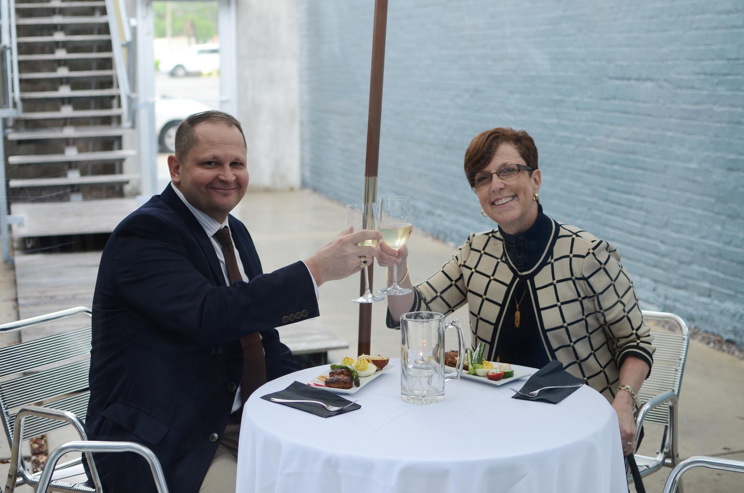 Bryan & Jennifer Wampler, UMKC Convservatory, AFP President