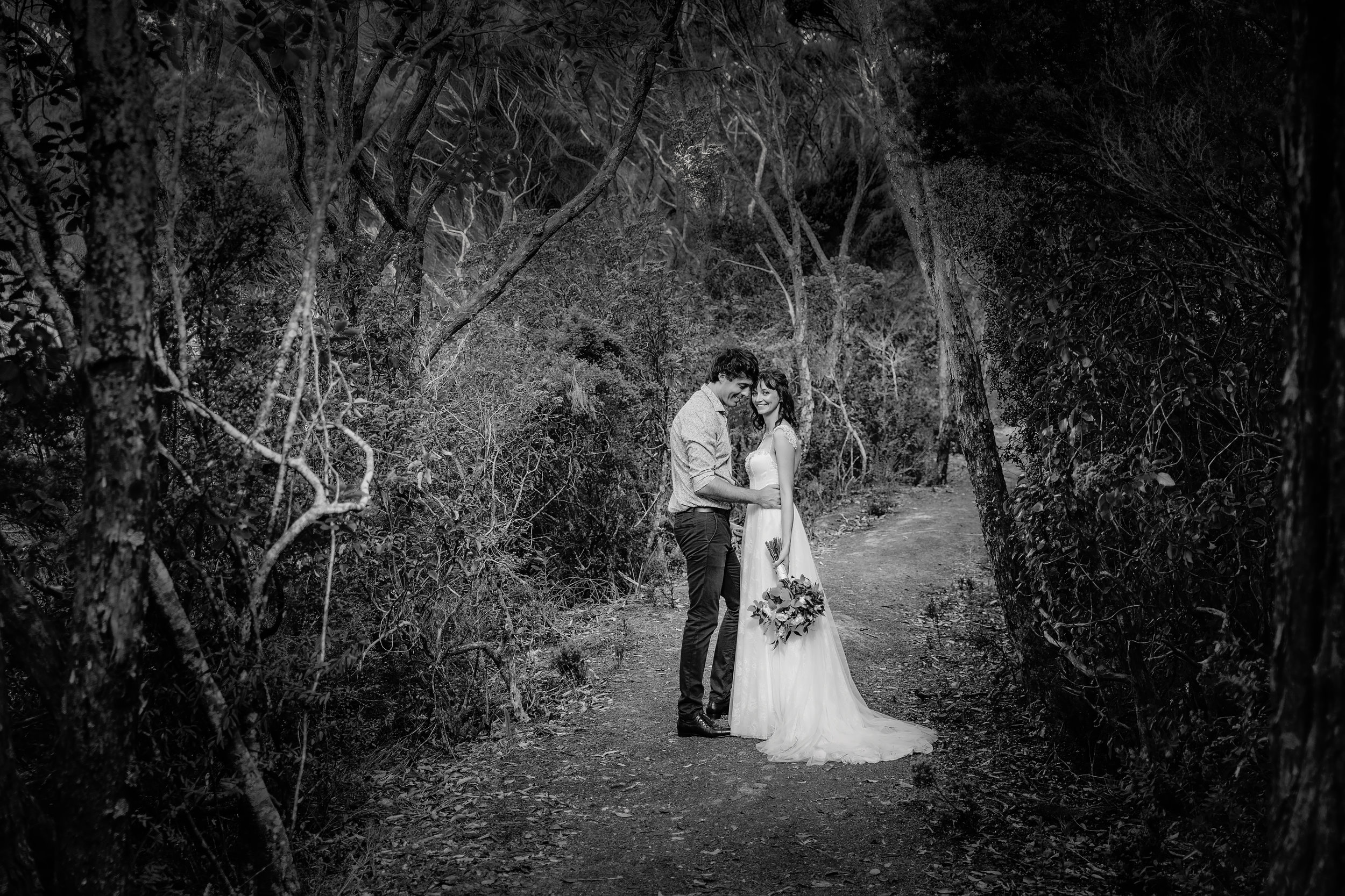 wedding photographer in russell bay of islands.jpg