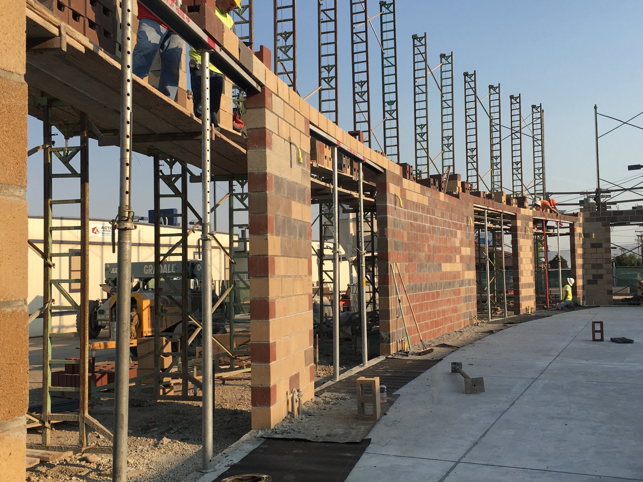 - RADIUS WALL CONSTRUCTION
