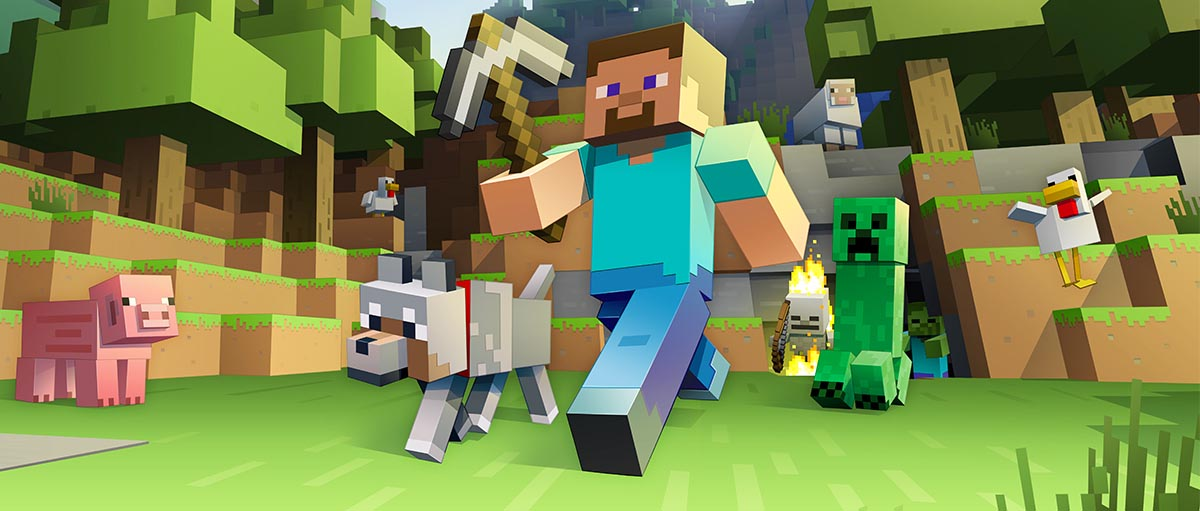 Top100 Video Games - minecraft
