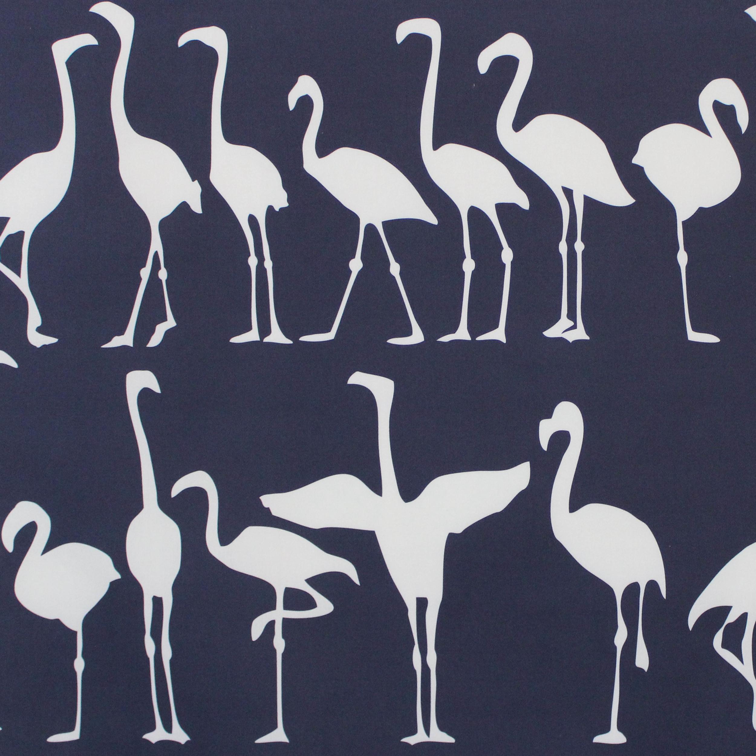 Flamingo Parade/ navy reverse
