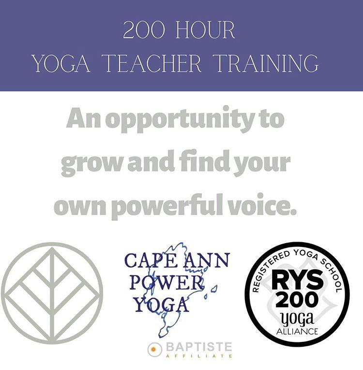 Training Programs Cape Ann Power Yoga