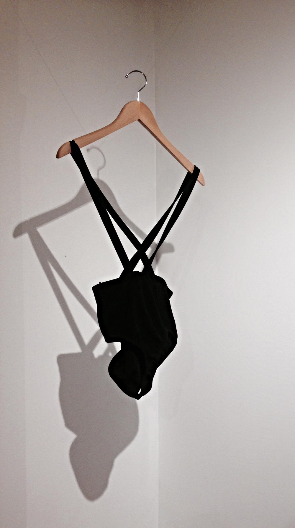 Monokini on display. Construction by Olivia Sparks.
