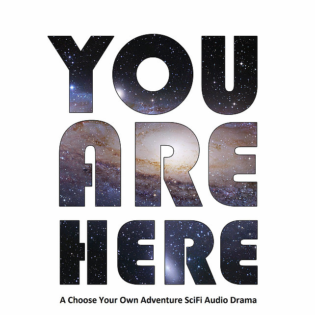 You Are Here Podcast Logo