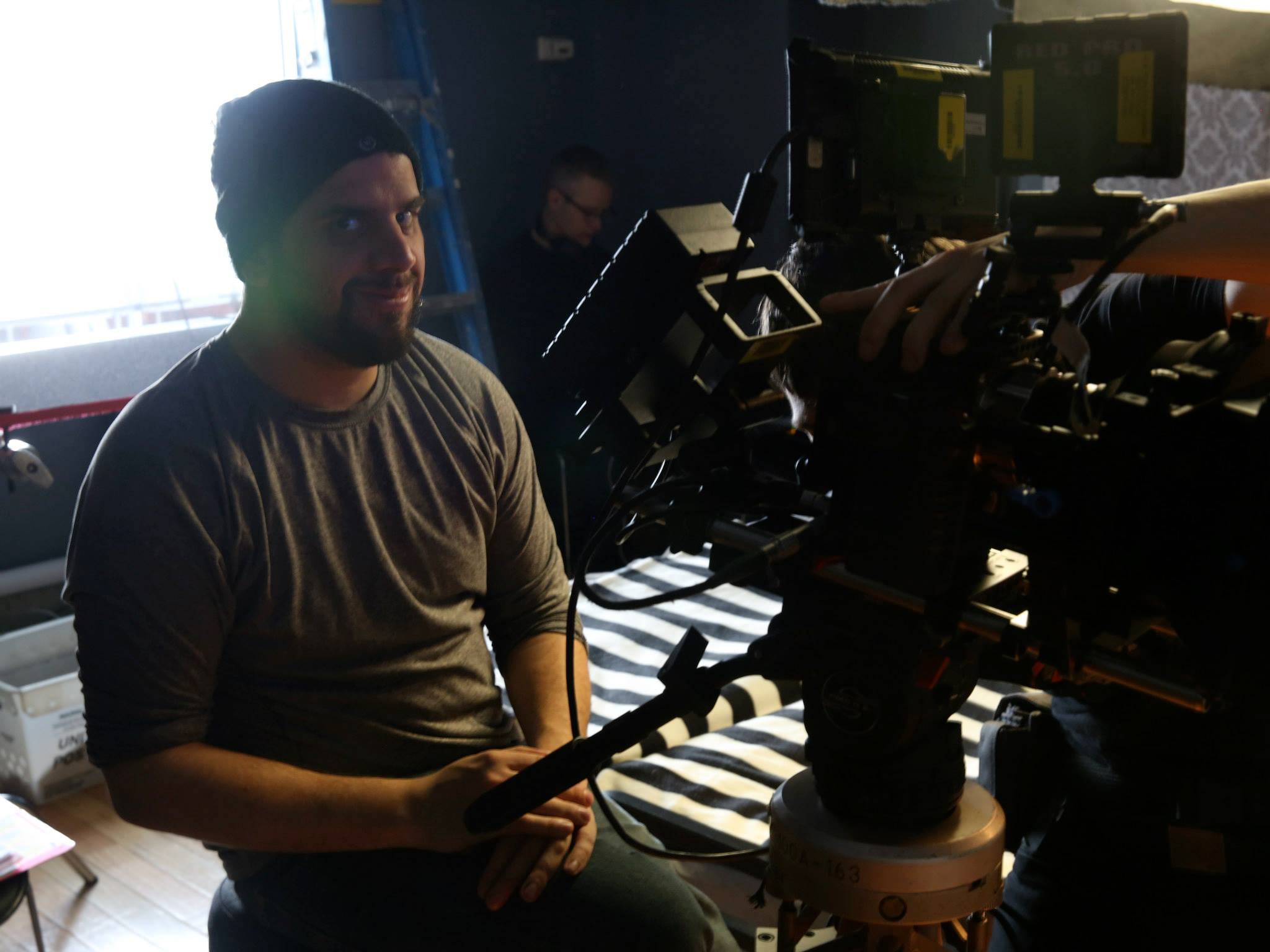 Director of Photography Dominick Sivilli