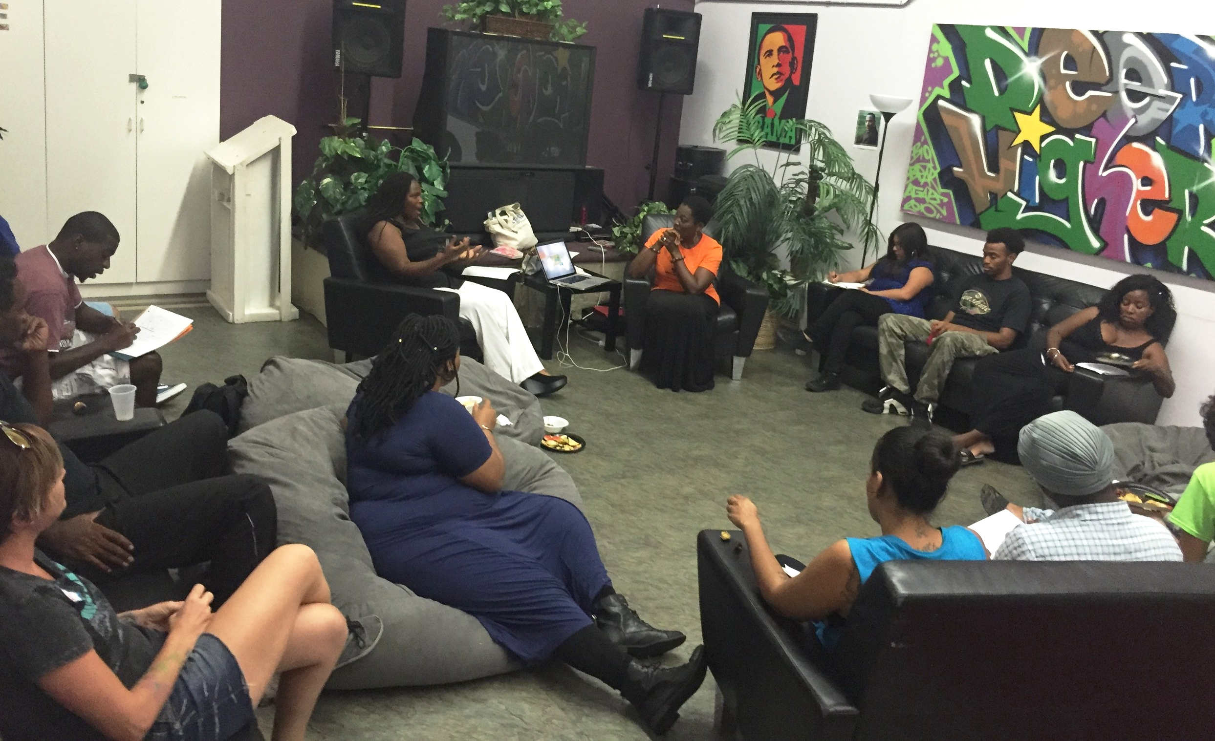 Mentoring Tuesday at Agape International Spiritual Center