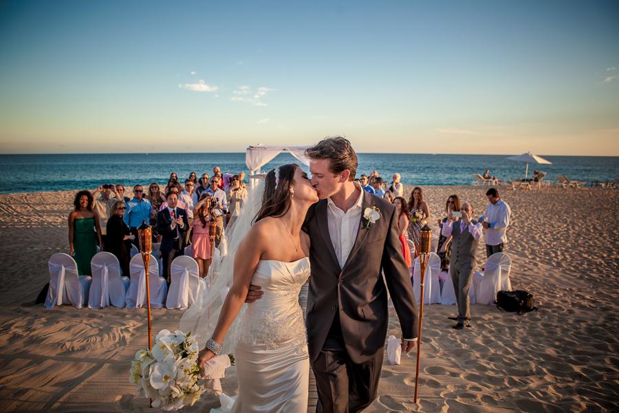 Destination wedding in Cabo San Lucas, Mexico.