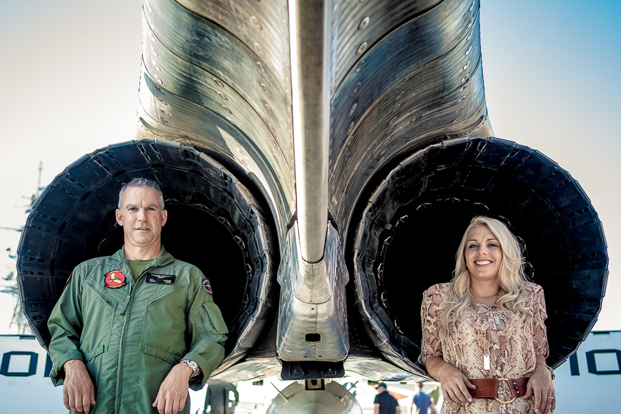 Engagement Session USS Midway