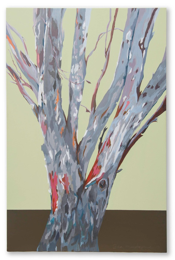 Beyond Cabramurra,   Acrylic medium on stretched canvas, 152 x 102 cm © Ida Montague   ENQUIRE