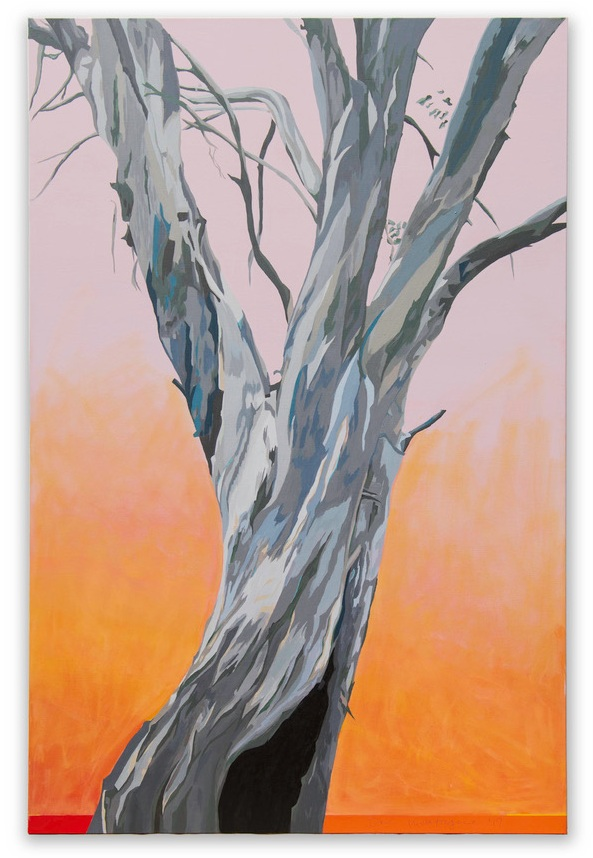 Sophie's tree,   Acrylic medium on stretched canvas, 152 x 102 cm © Ida Montague.  SOLD  - Prior to exhibition