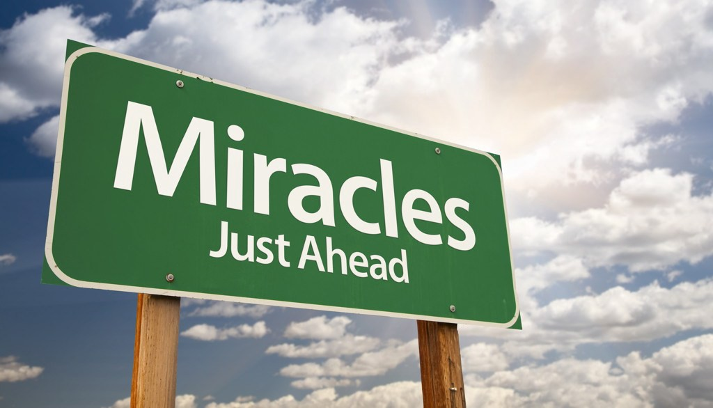 "This Month is Your Month for a Miracle to take place in Your Life!  -   ""Our God is a God of Miracles"""