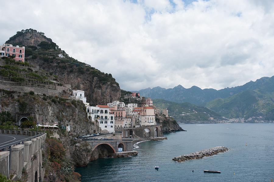 Emily Anne Szabo Amalfi coast panorama