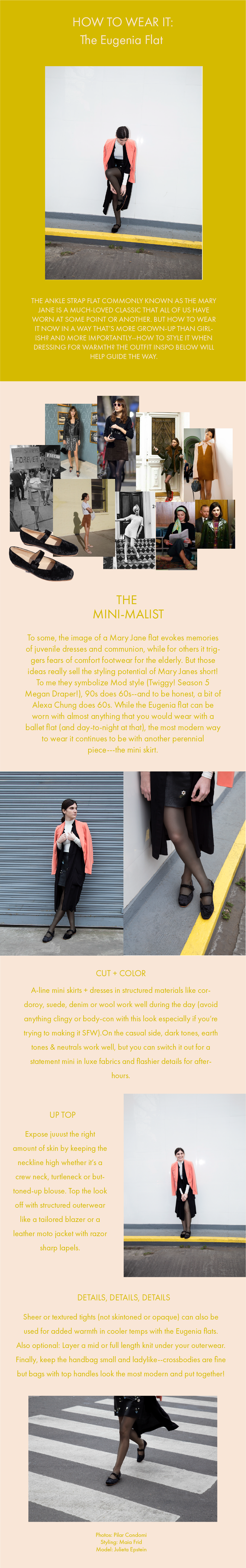 How to Wear it: The Eugenia Flat