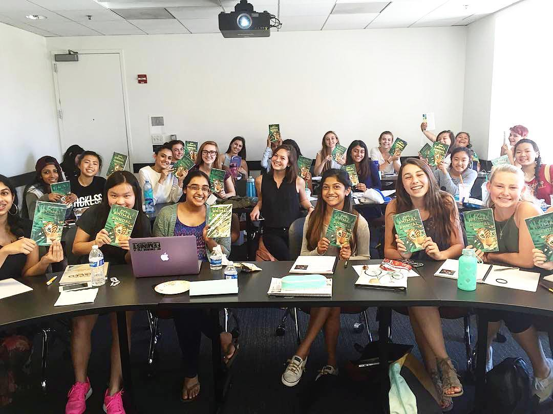 2016: Featured Presenter at Stanford Miss CEO Camp