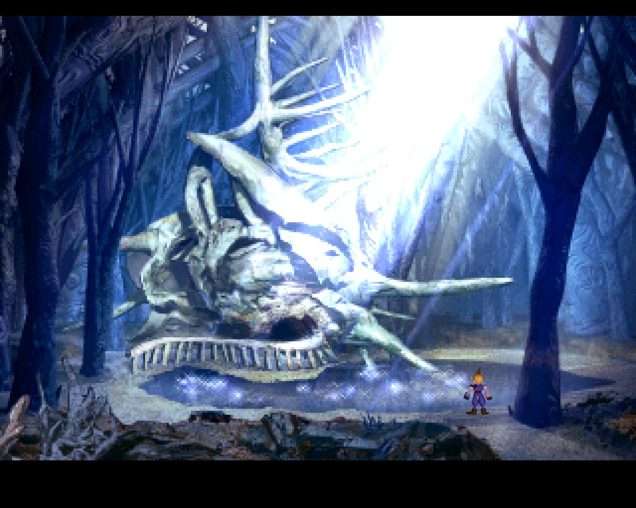Final Fantasy VII Screenshot 51 city of the ancients dried shell.jpg