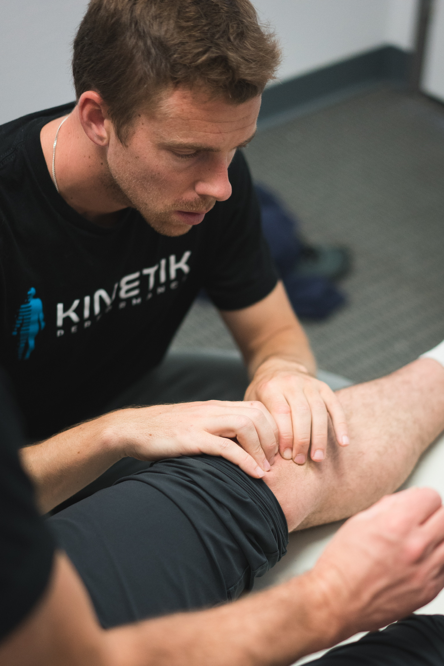 """""""After an intense week of learning, - I knew the importance of fascial planes, how muscle structures interlace with other structures, how to treat ligaments and why, what fascia is and why we talk about it so much, and how to assess underlying issues while analyzing movement patterns such as running, walking, CrossFit movements, yoga poses, cycling mechanics. You name it, we assessed it, and learned from each other what was happening mechanically or not happening mechanically. The ability to see the body globally allows Jonathan to see the root cause of issues, not just where the pain is.""""- Ciaran Lane, ART Provider"""