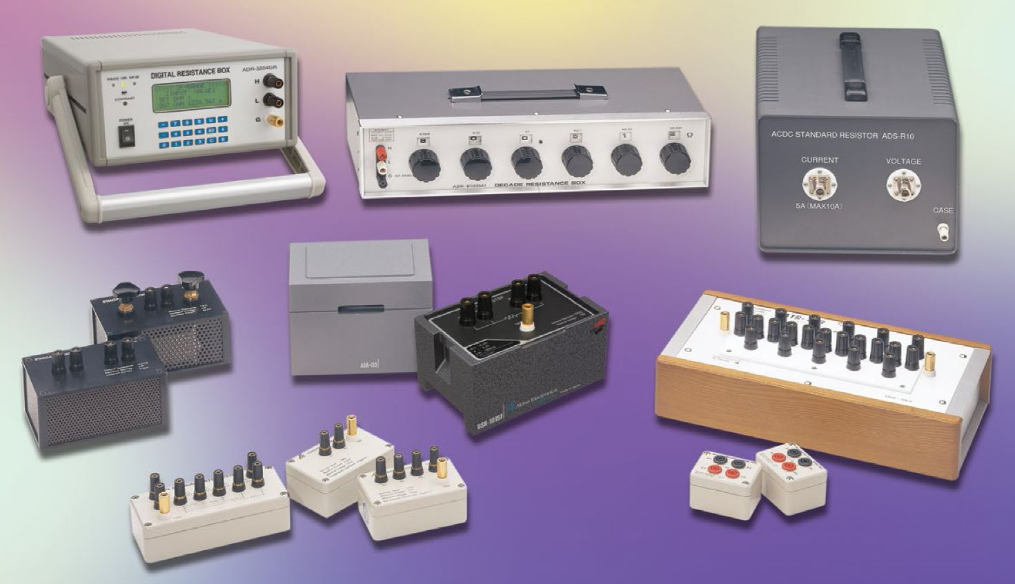 Standard Resistors, Decade Boxes, and Programmable Resistors