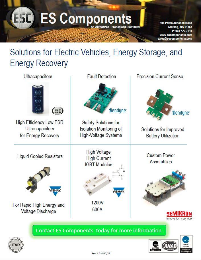 Energy Storage Line Card