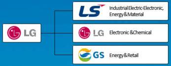 LG Electronics Divisions