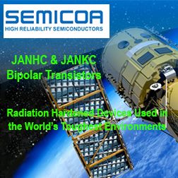 Bipolar Transistors - JANHC and JANKC bipolar transistors for high-reliability applications in military, aerospace, automotive, industrial and medical markets.